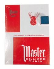 BLUE CHALK - Master Brand - 1 Gross = 144 PIECES - Blue Color