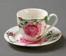Espressotasse mit Untertasse Rose (V13442) Kaffeetasse Kaffeeservice