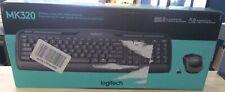 Logitech Desktop MK320 Wireless Keyboard & Mouse Black (920-002836) 792257