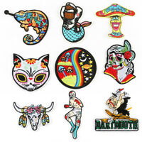 New Embroidered Applique Iron On Patch design DIY Sew Iron On Patch Badge