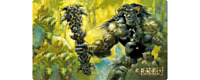 Sol'kanar the Swamp King Playmat Richard Kane Ferguson MTG *Flipside Exclusive*