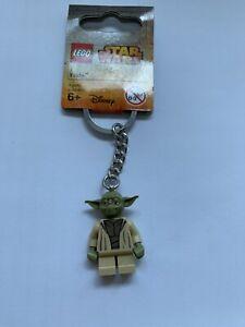Lego key chain 853449 Star Wars JEDI MASTER YODA Accessories w/ Tags New Rare