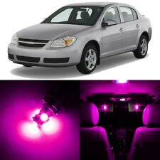 10 x Ultra PINK Interior LED Lights Package For 2005 - 2010 Chevy Cobalt +TOOL