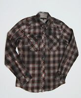 AFFLICTION Black Premium 'Truth Hurts' Long Sleeve Woven Shirts NEW NWT