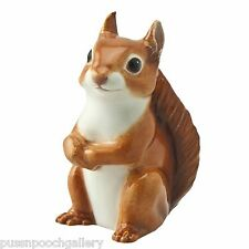 Red Squirrel John Beswick Hand Painted Miniature Figurine - Boxed LAST ONE