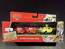 DISNEY PIXAR CARS DINOCO 400 RACE FANS JAY W RSC 3 PACK SAVE 5% WORLDWIDE FAST