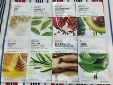 4 x Real Nature Face Mask ( The Face Shop ) Au Seller  * 4 assorted