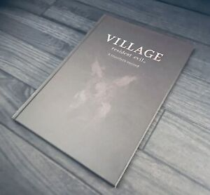 Capcom Resident Evil 8 Village Collector's Edition Hard Cover Art Book NEW