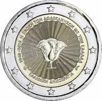 Griechenland 2 Euro 2018 Vereinigung mit Dodekanes Gedenkmünze Prägefrisch