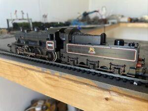"""Hornby Ivatt 2MT BR Black 2-6-0 """"46400"""" In Lined Black Livery OO Gauge"""