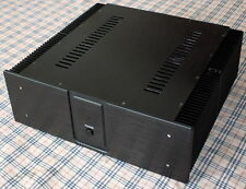 Full Aluminum power amplifier chassis amp Enclosure /case/Box 440*410*150mm A30