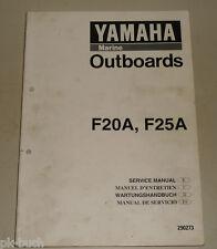 Werkstatthandbuch Yamaha Außenborder Motor Marine Outboards 6C / 8C 04/1993