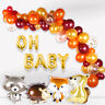 67 PC Animals Balloons Foil Latex Set Baby Shower Birthday Woodland Party Decor