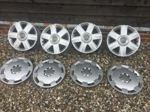 Audi A2 genuine alloy wheels plus roof rack