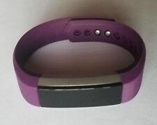 Plum SMALL Fitbit Alta Fitness Activity Tracker - NO POWER - Read Description