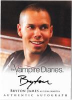 The Vampire Diaries 2 Auto Autograph Card Bryton James Luka Martin A16