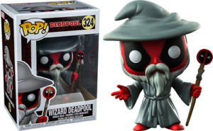Funko Pop Wizard Deadpool #324  Brand New
