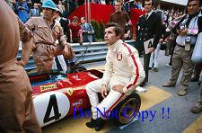 Jacky Ickx Ferrari 312 B2 Monaco Grand Prix 1971 Photograph 3