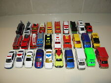 Hot Wheels /Matchbox/Misc Other Fire Rescue Trucks Lot Of 30