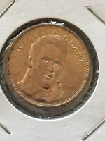 William Clark Franklin Mint Rugged Americans series Coin Token