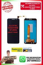 TOUCH SCREEN VETRO + LCD DISPLAY Alcatel Vodafone Smart Prime 6 VF - 895 N Nero