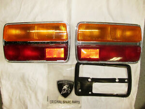 Lamborghini Urraco tail lights pair left + right