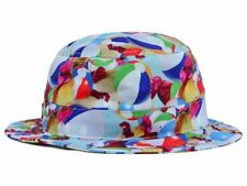 DC Shoes Liddy Bucket Beach Ball & Rooster Bucket Style Cap Hat  L XL
