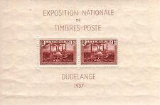 LUXEMBURGO/LUXEMBOURG 1937 MNH SC.B85 Natl.Philatelic Expo.Dudelange