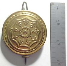 FANCY BRASS CLOCK PENDULUM USED ON CLOCKS MADE BY NEW HAVEN, JEROME & CO., BAIRD