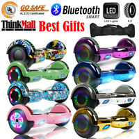 "6.5"" Bluetooth Hoverboard Self Balance Scooter UL2272 CE With Bag LED Best Gift"