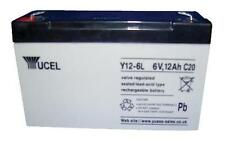 Batteries - Rechargeable - BATTERY LEAD ACID 6V 12AH