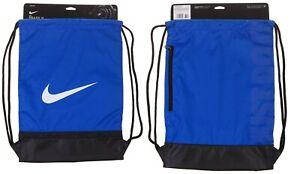 Nike Unisex Sports Football Gymsack Training Bag Gym Sack Drawstring PE Team Kit