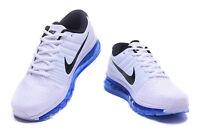 Nike AIR MAX 2017 WHITE BLACK BLUE