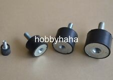 1PC M8 Male Thread 30x15mm Rubber Anti Vibration Shock Pad