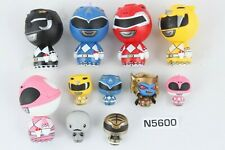 Funko Pint Size Dorbz Power Rangers Blue Pink Yellow Red Black 2016 Figure lot