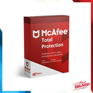 ✅McAfee Total Protection 2021 1 PC 12 Months License Antivirus 1 Year✅