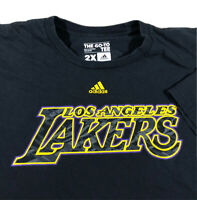 Adidas The Go-To Tee NBA T-Shirt - Los Angeles Lakers 2XL XXL Faded Black