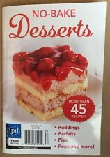 No Bake Desserts Recipes Puddings Parfaits Pies Pops #57 2015 FREE SHIPPING!