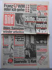 Bild Zeitung vom 19.2.1985, Bo Derek, Elleonora Vallone, Joan Collins