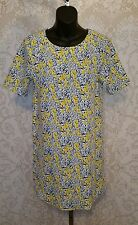 WAREHOUSE Midi Floral Print Dress Sz US 6 UK 10 #2717