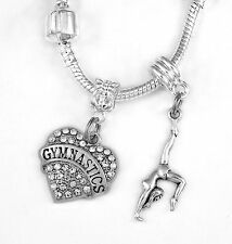 Gymnastics Necklace Gymnist Gift Gymnastic chain Gymnastics Present Gym Pendent