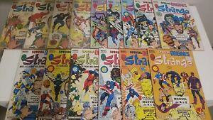 Lot Strange spécial origines Marvel Collection LUG super héros Stan Lee présente