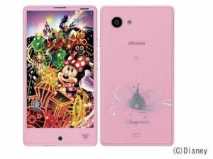 SHARP DM-01H DISNEY AQUOS Compact Phone DOCOMO Android 4K Unlocked Japan used