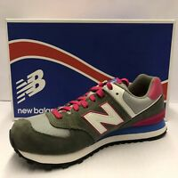 New Balance Womens Trainer Shoes WL574 Classics Suede Size 3.5 UK Eur 36 Grey