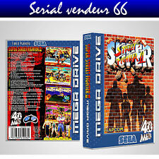 "BOX, CASE ""SUPER STREET FIGHTER 2"". BOX + COVER PRINTED. NO GAME. MULTILINGUAL."