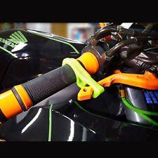 Green Motorcycle Brake Lever Lock Suzuki GSXR Honda CBR Kawasaki Ninja ZX Yamaha