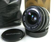 OLYMPUS ZUIKO MC AUTO-W 1:2.8 F=28mm Wide Angle Lens. Caps. Olympus 1A Filter