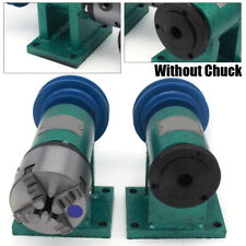 Lathe Spindle Diy Tool Metal Woodworking Hobby Model Making 4-Jaw Chuck