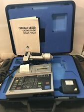 Minolta CR-200 chroma meter with Calibration plate
