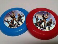 12 FORTNITE mini frisbees birthday party favor, treat, FORT NITE FORTNIGHT